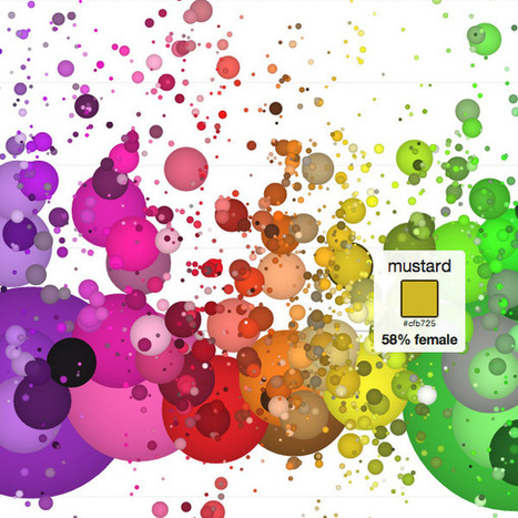 His And Hers Colors: Popular Color Names By Gender Preference - information aesthetics | Digital-News on Scoop.it today | Scoop.it