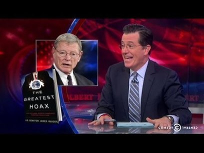 Colbert on the New Senate   Sustain Our Earth   Scoop.it