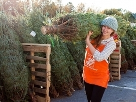 Home Depot Teams With Uber to Deliver Christmas Trees | Hot Technology News | Scoop.it