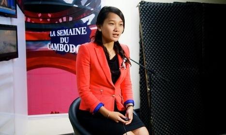 Ung Chansophea (86e promo ESJ), la voix francophone de la télé cambodgienne   DocPresseESJ   Scoop.it