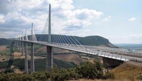 World's Most Terrifying Bridges_Millau Viaduc - Various Type Image Available Here | imagebazarr.blogspot.com | Scoop.it