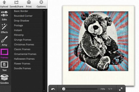 Photo editor and photo effects online, edit images with BeFunky | Comicsforkids | Scoop.it
