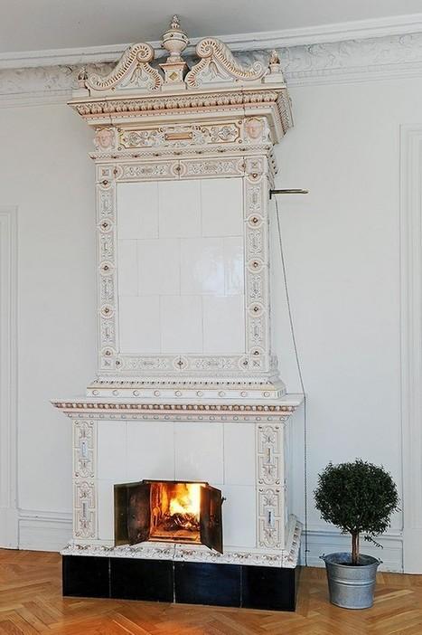 Un grand appartement scandinave et chaleureux… | stickers autocollants décoratifs | Scoop.it