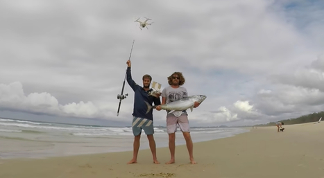 Drone Fishing: Guys Use Drone to Capture Tuna from Above... Literally | Technology in Business Today | Scoop.it