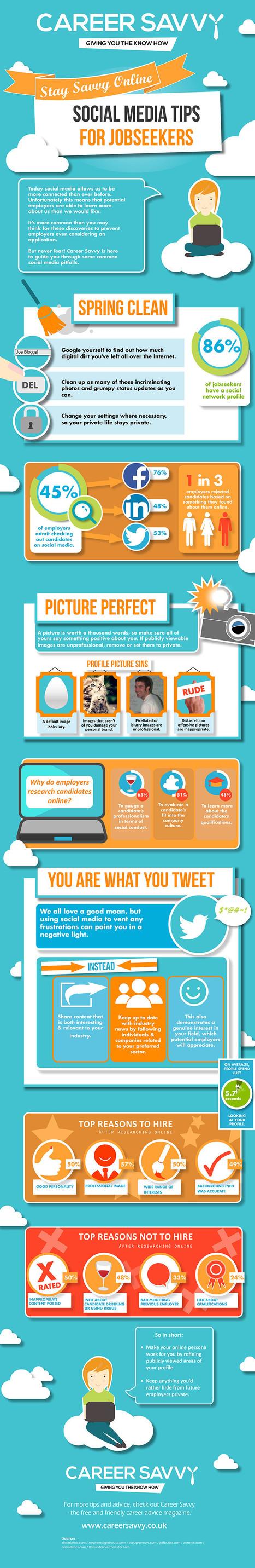 Social Media Tips For Job Seekers | Personal Reputation | Scoop.it