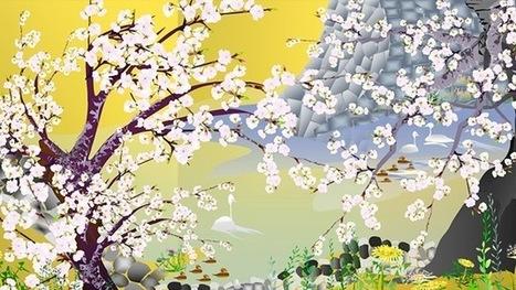 Un jubilado japonés crea hermosas obras de arte con el software Excel   arte y tecnología   Scoop.it