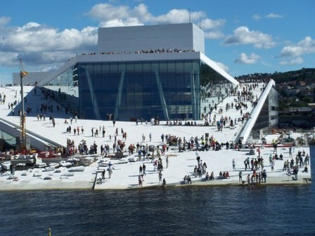 [Oslo, Norway] Opera House / Snohetta | The Architecture of the City | Scoop.it