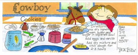 Cowboy Cookies by Kevin Ouellette | Desserts | Scoop.it