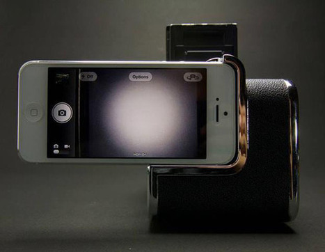 This Adapter Will Turn Your Phone Into an Uber-Cheap Medium Format Digital Back | smartphone photography | Scoop.it