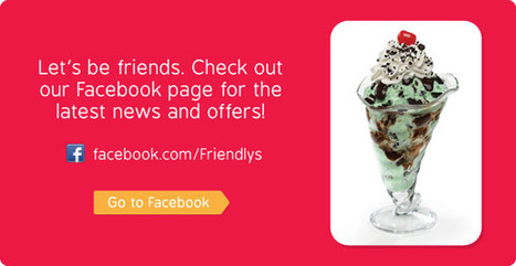 Friendly's - Where Ice Cream Makes the Meal | fast food places | Scoop.it