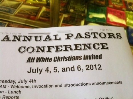 Whites-only Christian gathering riles some Alabama neighbors | The Global Village | Scoop.it
