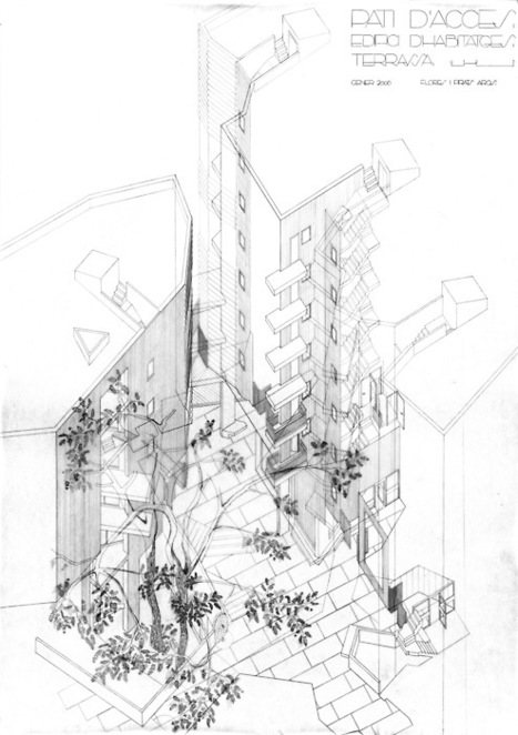 Drawing ARCHITECTURE | The Nomad | Scoop.it