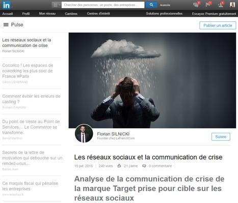 LinkedIn Pulse : un outil incontournable pour l'e-réputation des dirigeants | DOCAPOST RH | Scoop.it