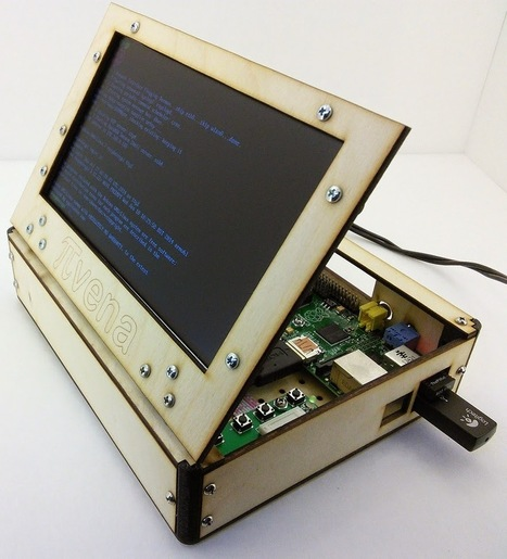 Pivena: A Raspberry Pi Laptop Inspired By Novena | Arduino, Netduino, Rasperry Pi! | Scoop.it
