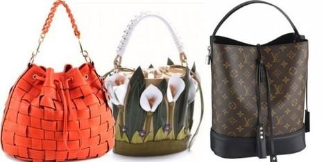 Il ritorno delle borse a secchiello: da Louis Vuitton a Braccialini   Moda Donna - sfilate.it   Scoop.it