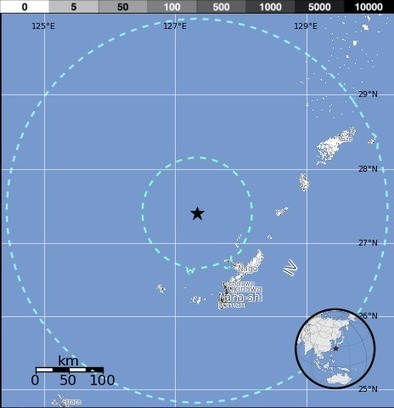 M6.5 - 110km NW of Nago, Japan 2014-03-02 20:11:22 UTC | Japan Tsunami | Scoop.it