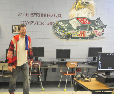 Dale Jr. helps accelerate learning - Statesville Record & Landmark | iPads & Classroms | Scoop.it