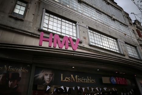 HMV relaunches its digital music service with a new iOS and Android app in the UK | EMR Stream Team | Scoop.it