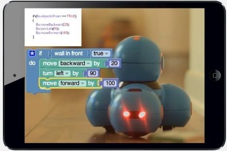 Play-i : des robots pour apprendre la programmation aux enfants, la meilleure approche pour enseigner les plus de cinq ans ? | Time to Learn | Scoop.it