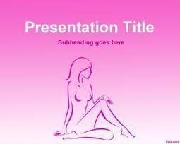Plantilla PowerPoint de Spa con Silueta de Mujer Gratis   Plantillas PowerPoint Gratis   Plantilas PowerPoint   Scoop.it