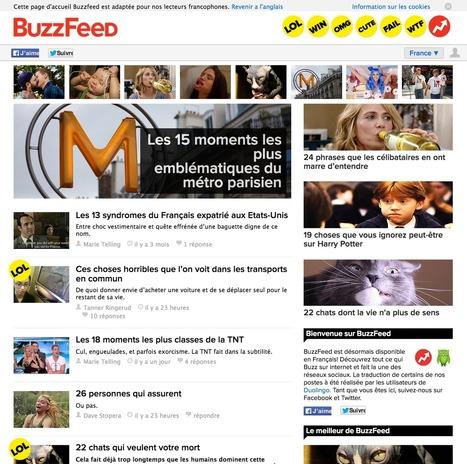 BuzzFeed France : plus de confiserie que de brocoli | Les médias face à leur destin | Scoop.it