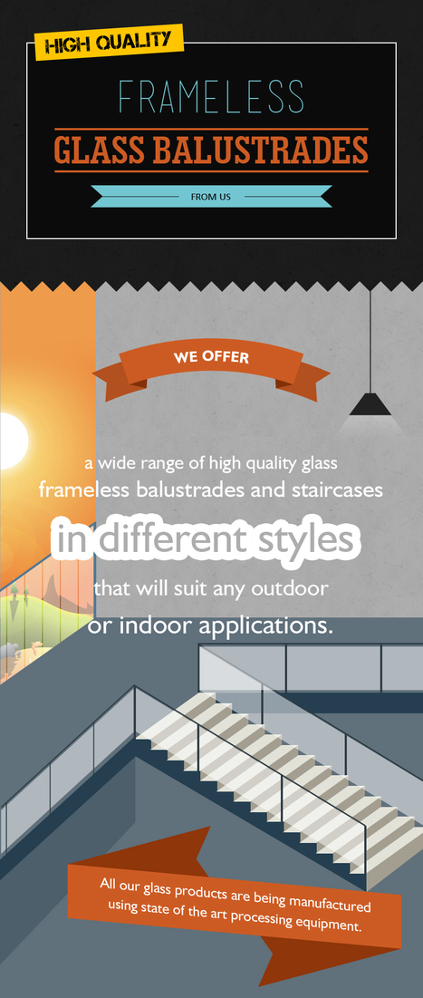 High Quality Frameless Glass Balustrades from Crystal Glassbuild | Glass Fencing | Scoop.it