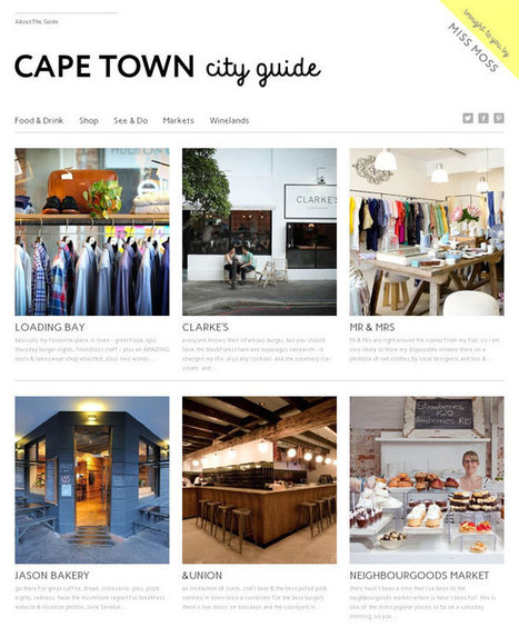 Miss Moss : Cape Town City Guide! | Southern Africa:Tourism | Scoop.it