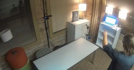 RoomE ou quand une salle devient une interface à part entière | L'Atelier: Disruptive innovation | Tendances numériques | Scoop.it