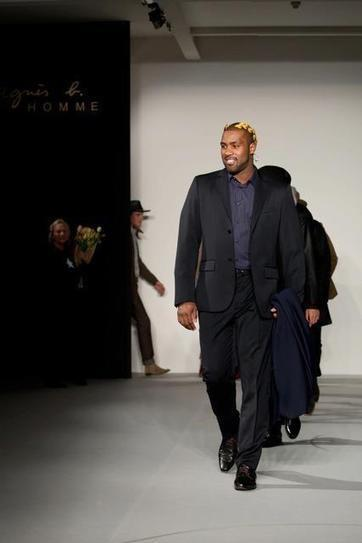 Teddy Riner nouveau top model? | Sweat and balls | Insolites | Scoop.it