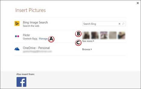 Insert Picture from Flickr in PowerPoint 2013 | PowerPoint Tutorials | Scoop.it