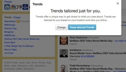 I'm Not a Fan of Tailored Trends on Twitter | Content Marketing & Content Curation Tools For Brands | Scoop.it