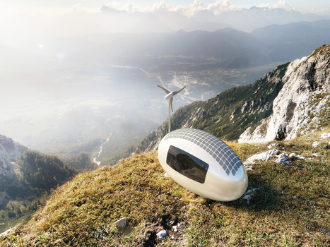 This Tiny, Self-Powered Living Capsule Lets You Dwell Anywhere On Earth | Xposed | Scoop.it
