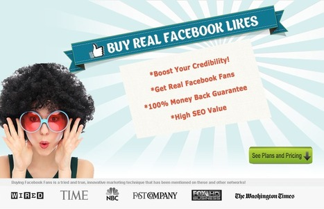 Buy Facebook Likes | Real & USA Fans | 100% Guarantee | Facebook Marketing | Scoop.it