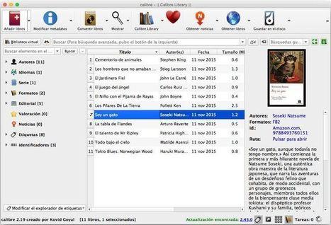 ¿Cómo gestionar tu biblioteca de ebooks con Calibre? | EROSKI CONSUMER | TECNOLOGÍA_aal66 | Scoop.it