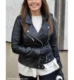 Carol Vorderman Jacket | Designers Women Leather Jackets & Pants | Scoop.it