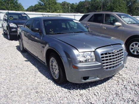 Salvage 2007 gray Chrysler 300 with VIN 2C3KA43R77H688578 on auction   cars   Scoop.it