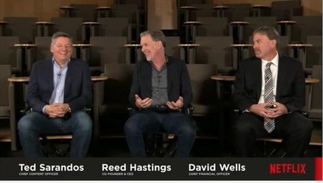 Netflix : Reed Hastings reconnaît ses erreurs à l'international | Video_Box | Scoop.it