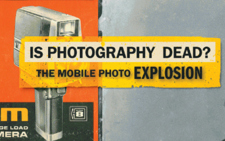 Is Photography Dead? A History From Early Cameras to Instagram [INFOGRAPHIC] | Technographics | Scoop.it