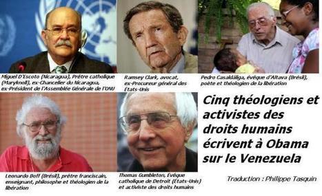 Cinq théologiens et activistes des droits humains écrivent à Obama sur le Vénézuéla | Venezuela | Scoop.it