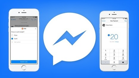 Facebook Messenger adds group chat Polls and AI paymentsuggestions | Designing  service | Scoop.it