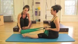Pilates: Foot Exercises with Thera Band - Women's Fitness - Swagbucks TV Global | Year 10 Physical Education and Health (Rosehill College) | Scoop.it