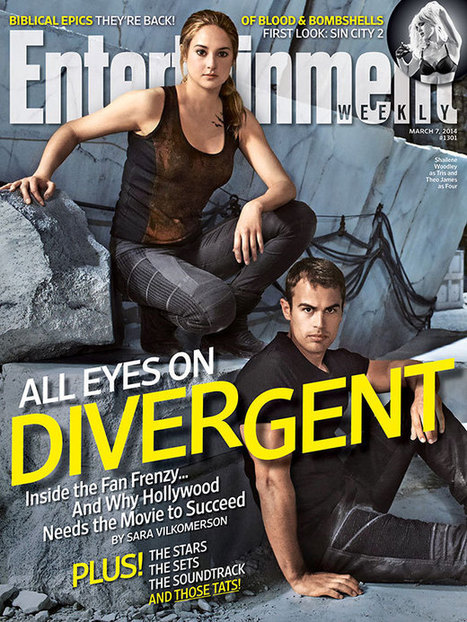 This week's cover: Getting ready for 'Divergent' | EW.com | All things YA - Books, Publishing, Writing, Blogging, Reviews | Scoop.it