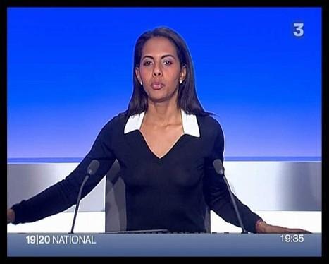 Audrey Pulvar montre ses seins sexy pour la bonne année 2013 ! - photo | Radio Planète-Eléa | Scoop.it