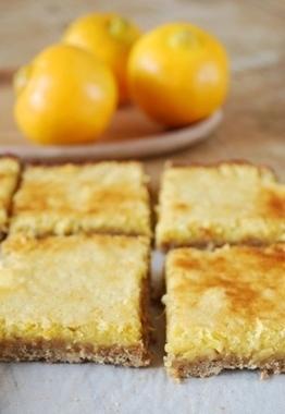 Carrés au citron bergamote et thé Earl Grey | Clea Cuisine | Veggie & vegan desserts | Scoop.it