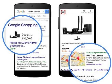 Développez votre stratégie Web-to-Store avec les Google Local Inventory  #web2store #mobile2store | Web-to-Store | Scoop.it
