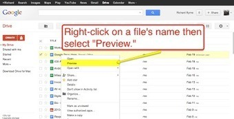 Free Technology for Teachers: New File Preview Options in Google Drive | Jewish Education Around the World | Scoop.it