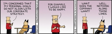 Dilbert Aligns His Goals | Manufacturing Professionals | Scoop.it