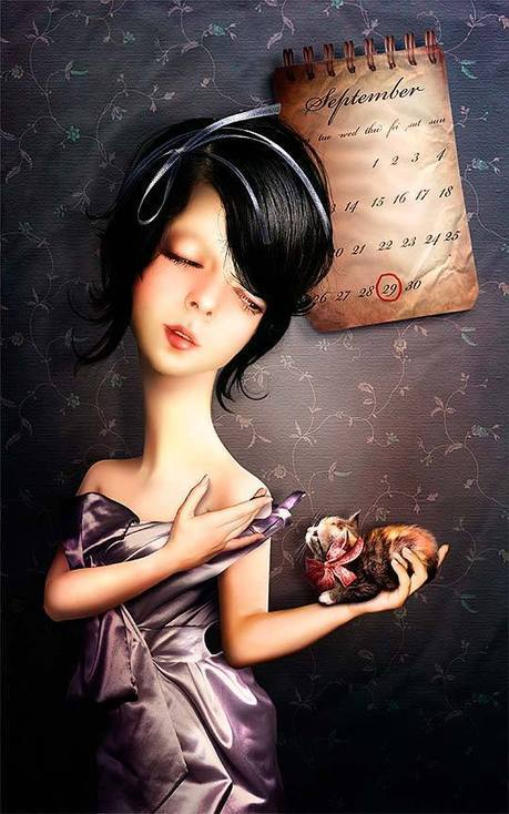 Arte digital. Ilustración y magia de LLEN29. | Newsletter BJT | Scoop.it