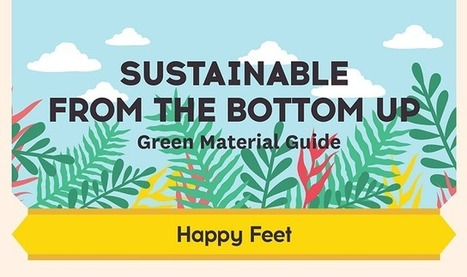 Sustainable from the Bottom Up Green Material Guide #infographic | Children Family and Community | Scoop.it