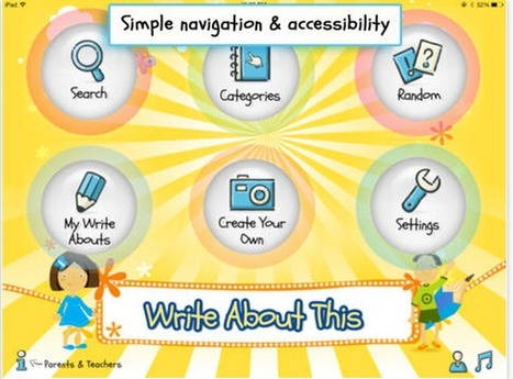 Four Great iPad Apps That Provide Kids with Writing Prompts | iGeneration - 21st Century Education | Scoop.it